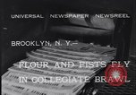 Image of Annual battle Brooklyn New York City USA, 1932, second 5 stock footage video 65675040753