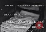 Image of Annual battle Brooklyn New York City USA, 1932, second 6 stock footage video 65675040753