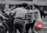 Image of Annual battle Brooklyn New York City USA, 1932, second 26 stock footage video 65675040753