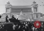 Image of allied soldiers in front of The Monument to Victor Emanuel II Italy, 1944, second 3 stock footage video 65675040763