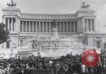 Image of allied soldiers in front of The Monument to Victor Emanuel II Italy, 1944, second 6 stock footage video 65675040763
