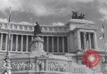 Image of allied soldiers in front of The Monument to Victor Emanuel II Italy, 1944, second 11 stock footage video 65675040763