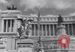 Image of allied soldiers in front of The Monument to Victor Emanuel II Italy, 1944, second 13 stock footage video 65675040763