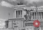 Image of allied soldiers in front of The Monument to Victor Emanuel II Italy, 1944, second 15 stock footage video 65675040763