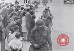 Image of allied soldiers in front of The Monument to Victor Emanuel II Italy, 1944, second 21 stock footage video 65675040763