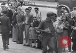 Image of allied soldiers in front of The Monument to Victor Emanuel II Italy, 1944, second 28 stock footage video 65675040763