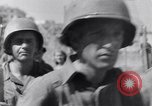 Image of allied soldiers in front of The Monument to Victor Emanuel II Italy, 1944, second 34 stock footage video 65675040763