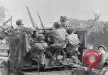 Image of allied soldiers in front of The Monument to Victor Emanuel II Italy, 1944, second 52 stock footage video 65675040763