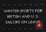 Image of Winter sports North Atlantic Ocean, 1944, second 4 stock footage video 65675040793