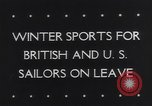 Image of Winter sports North Atlantic Ocean, 1944, second 5 stock footage video 65675040793