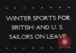 Image of Winter sports North Atlantic Ocean, 1944, second 6 stock footage video 65675040793