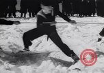 Image of Winter sports North Atlantic Ocean, 1944, second 20 stock footage video 65675040793