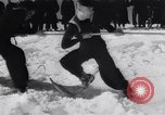 Image of Winter sports North Atlantic Ocean, 1944, second 21 stock footage video 65675040793