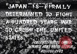 Image of Fervently patriotic Japanese people Pacific Theater, 1945, second 6 stock footage video 65675040811