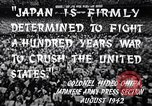 Image of Fervently patriotic Japanese people Pacific Theater, 1945, second 9 stock footage video 65675040811