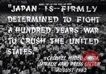 Image of Fervently patriotic Japanese people Pacific Theater, 1945, second 10 stock footage video 65675040811