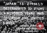 Image of Fervently patriotic Japanese people Pacific Theater, 1945, second 11 stock footage video 65675040811