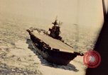 Image of Navy fighter aircraft landing on USS Essex Pacific Theater, 1945, second 25 stock footage video 65675040813