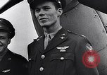 Image of Brigadier General Frank Hunter with Eagle Squadrons United Kingdom, 1942, second 18 stock footage video 65675040820