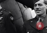 Image of Brigadier General Frank Hunter with Eagle Squadrons United Kingdom, 1942, second 19 stock footage video 65675040820