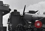 Image of F4U Corsair landing incident Pacific Theater, 1943, second 46 stock footage video 65675040833