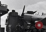 Image of F4U Corsair landing incident Pacific Theater, 1943, second 47 stock footage video 65675040833