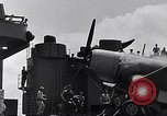 Image of F4U Corsair landing incident Pacific Theater, 1943, second 48 stock footage video 65675040833