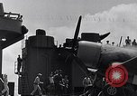 Image of F4U Corsair landing incident Pacific Theater, 1943, second 49 stock footage video 65675040833
