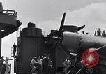 Image of F4U Corsair landing incident Pacific Theater, 1943, second 50 stock footage video 65675040833