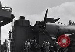 Image of F4U Corsair landing incident Pacific Theater, 1943, second 51 stock footage video 65675040833
