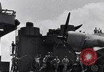 Image of F4U Corsair landing incident Pacific Theater, 1943, second 53 stock footage video 65675040833