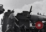 Image of F4U Corsair landing incident Pacific Theater, 1943, second 58 stock footage video 65675040833