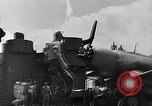 Image of F4U Corsair landing incident Pacific Theater, 1943, second 59 stock footage video 65675040833