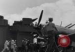 Image of F4U Corsair landing incident Pacific Theater, 1943, second 62 stock footage video 65675040833