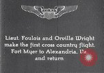 Image of Orville Wright Fort Myer Virginia USA, 1908, second 1 stock footage video 65675040851