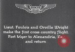Image of Orville Wright Fort Myer Virginia USA, 1908, second 2 stock footage video 65675040851