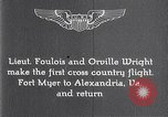 Image of Orville Wright Fort Myer Virginia USA, 1908, second 3 stock footage video 65675040851