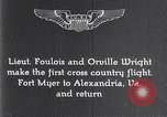 Image of Orville Wright Fort Myer Virginia USA, 1908, second 4 stock footage video 65675040851