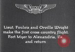 Image of Orville Wright Fort Myer Virginia USA, 1908, second 6 stock footage video 65675040851