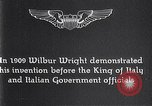 Image of Wilbur Wright Italy, 1909, second 2 stock footage video 65675040852