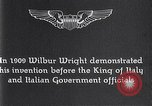 Image of Wilbur Wright Italy, 1909, second 4 stock footage video 65675040852
