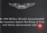 Image of Wilbur Wright Italy, 1909, second 5 stock footage video 65675040852