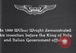 Image of Wilbur Wright Italy, 1909, second 9 stock footage video 65675040852