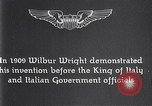 Image of Wilbur Wright Italy, 1909, second 10 stock footage video 65675040852