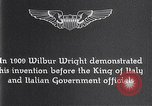 Image of Wilbur Wright Italy, 1909, second 13 stock footage video 65675040852