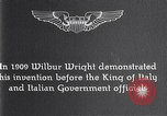 Image of Wilbur Wright Italy, 1909, second 14 stock footage video 65675040852