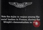 Image of Wilbur Wright France, 1908, second 14 stock footage video 65675040864