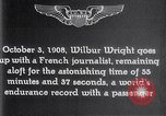 Image of Wilbur Wright France, 1908, second 48 stock footage video 65675040864