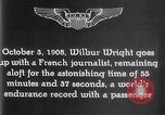 Image of Wilbur Wright France, 1908, second 49 stock footage video 65675040864
