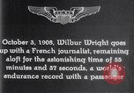 Image of Wilbur Wright France, 1908, second 51 stock footage video 65675040864